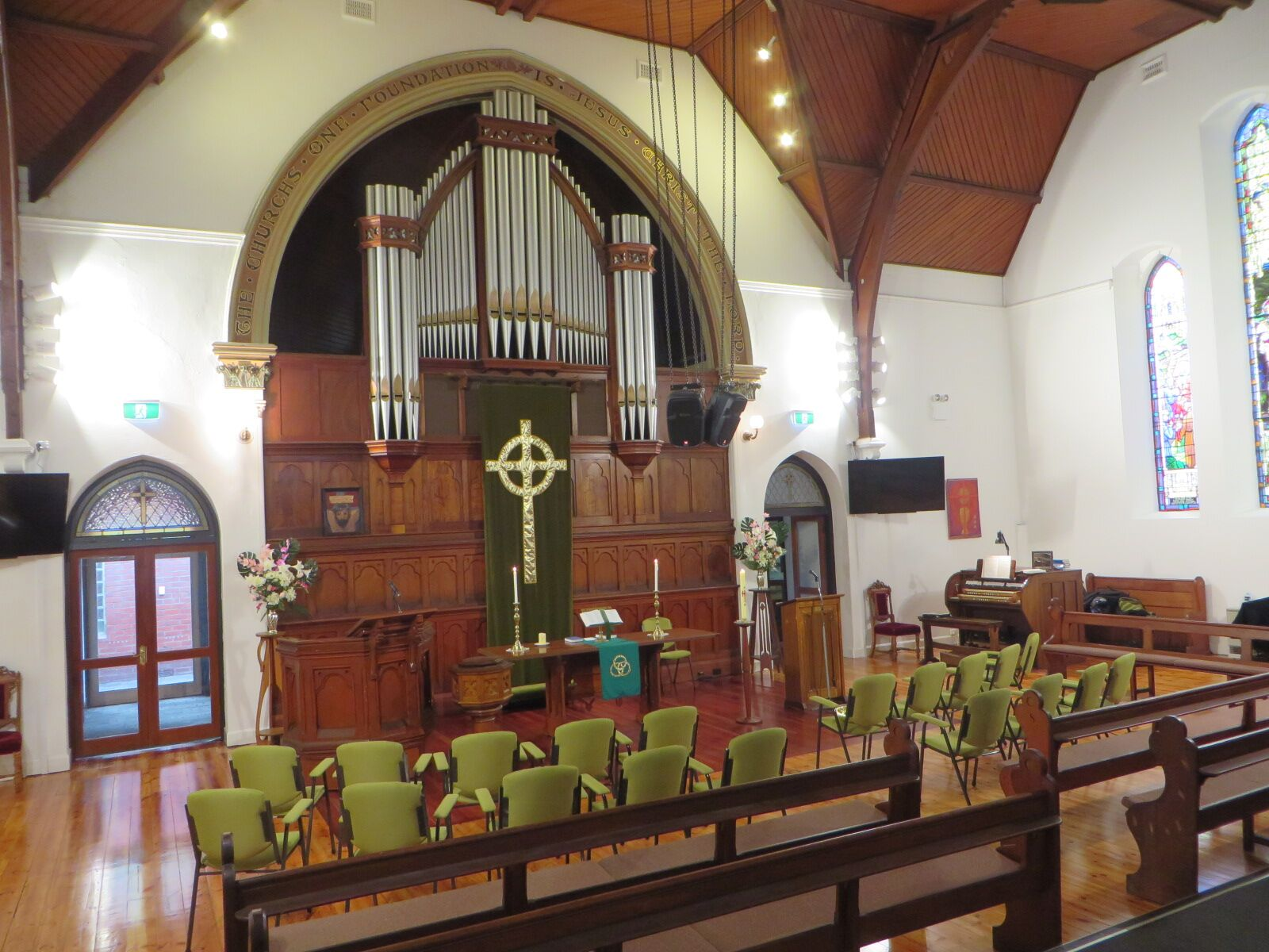 Interior of Armadale Uniting Church
